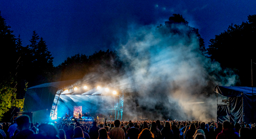 The Script perform on the opening night of Forest Live 2018 at Thetford High Lodge. Photo: Lee Blanchflower
