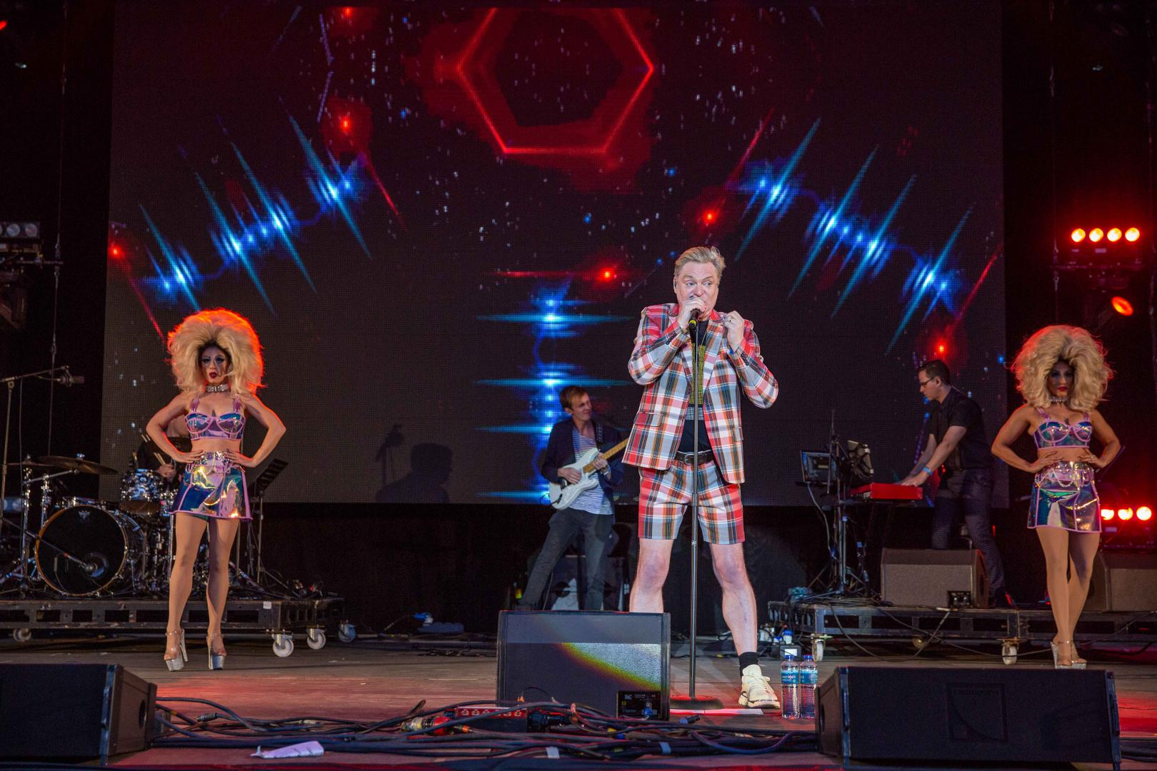 Andy Bell performs at Lets Rock Norwich 2019