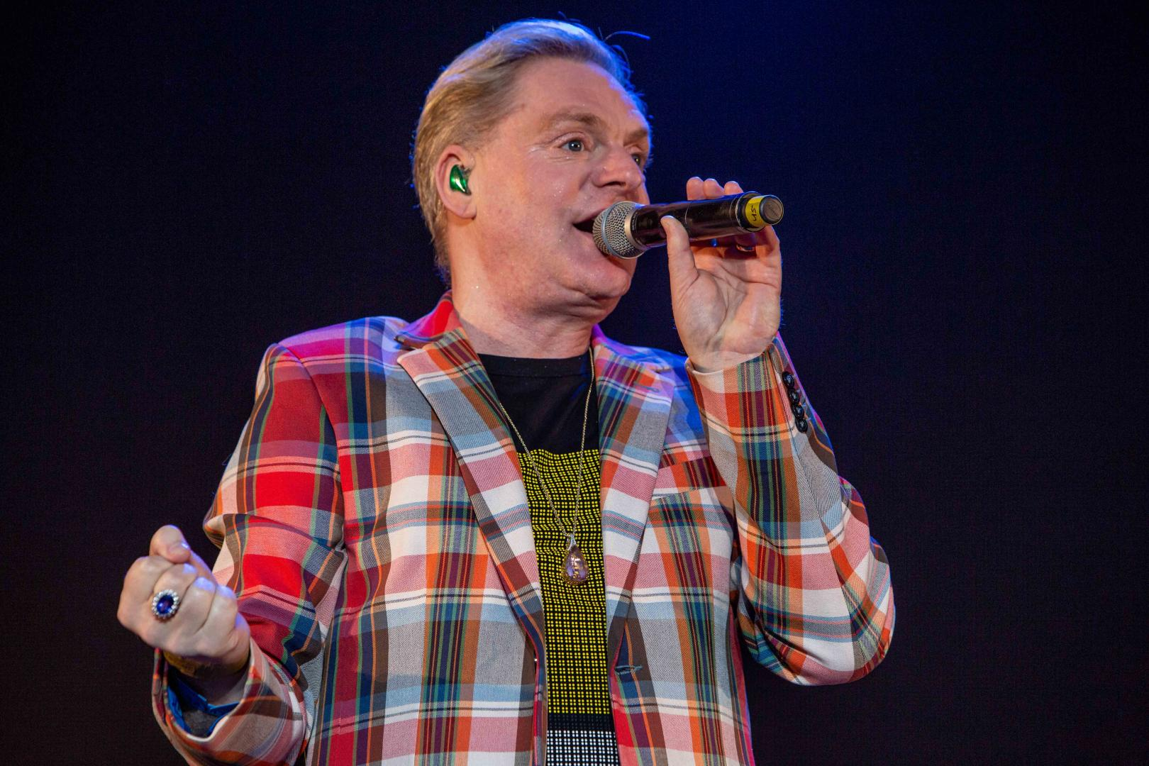 Erasure front man Andy Bell by Blanc Creative Norfolk